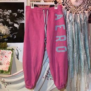 aeropostale pink sweatpants 🌟